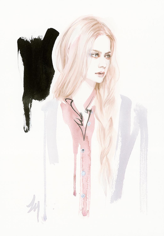 lizard, art, fashion, illustration, pure