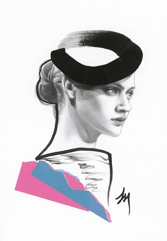 lizard, art, fashion, illustration, gaze