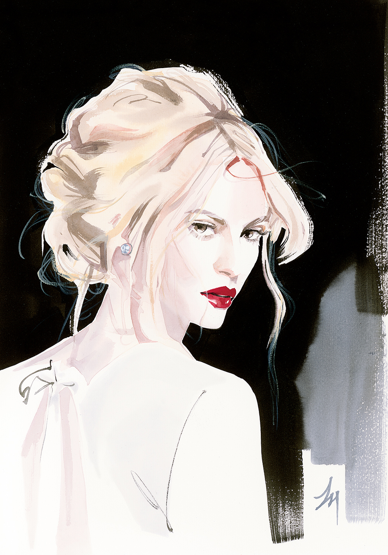 lizard, art, fashion, illustration, amatruda, BROADWAY