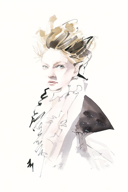 lizard, art, fashion, illustration, amatruda, COURTLY