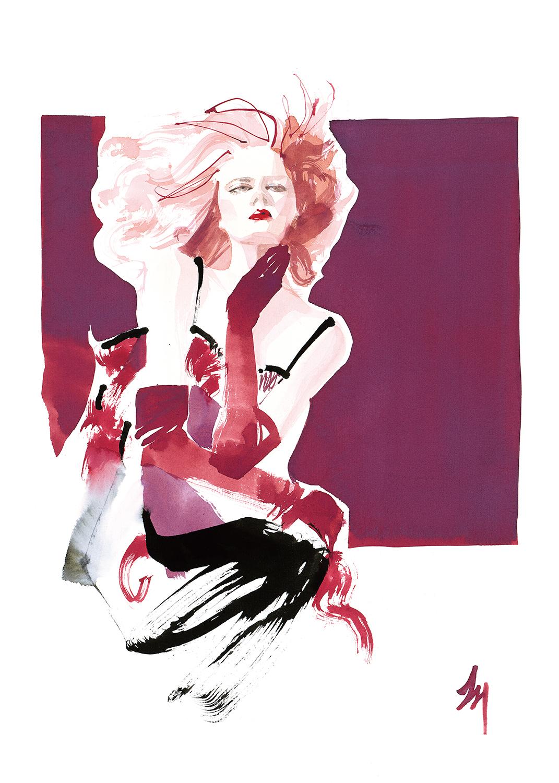 lizard, art, fashion, illustration, amatruda, GLOAMING
