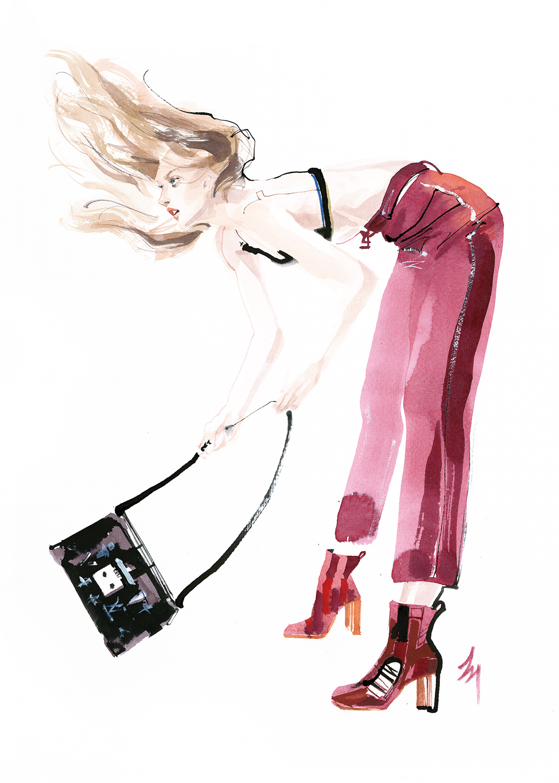 lizard, art, fashion, illustration, amatruda, joyful