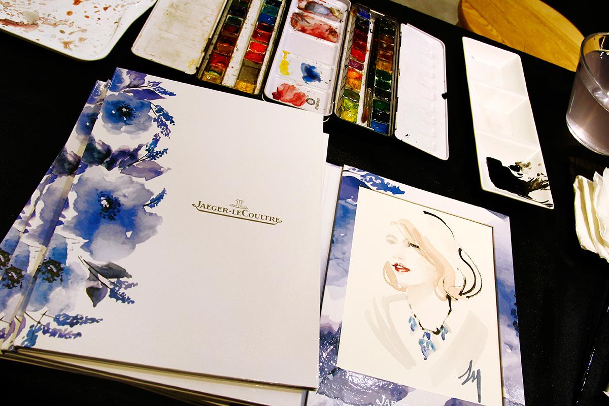 lizard, art, fashion, illustration, Jaeger-LeCoultre, Commercial